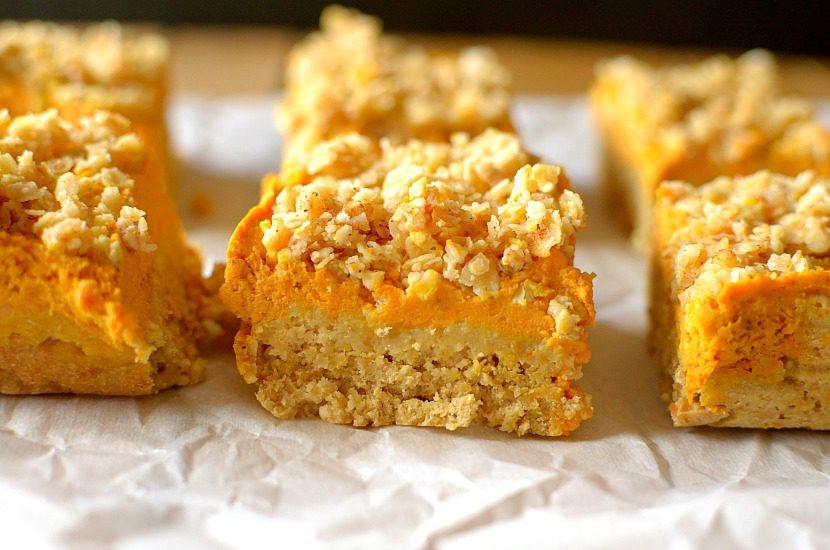 Pumpkin Pie Crumb Bars Kimberton Whole Foods